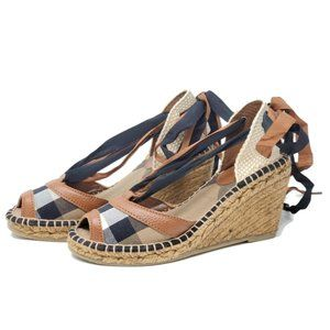 100% Auth Burberry Wedge Size 36